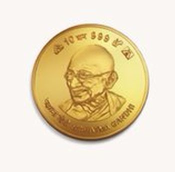 Get a personalised gold coin this festive season