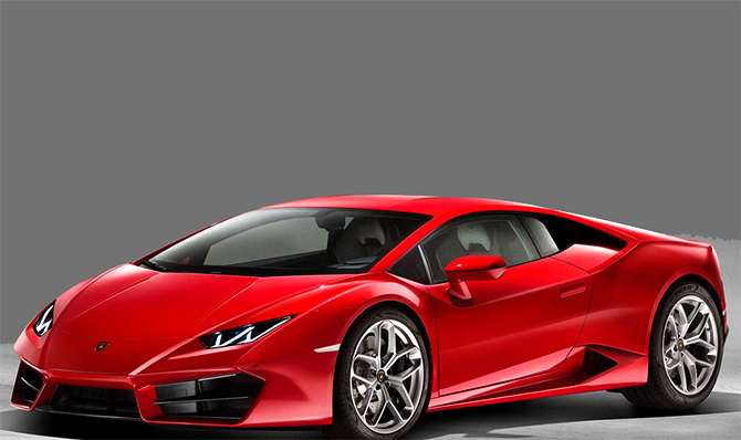 lamborghini launches huracan lp 580 2 at rs cr business. Black Bedroom Furniture Sets. Home Design Ideas