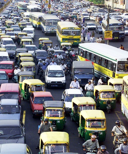 Ch Ng Delhi Vows Pollution Tax Car Free Days To Improve Air Rediff Com Business