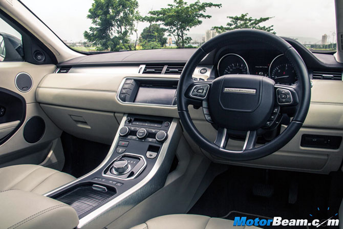 at rs lakh range rover evoque is an amazing off roader business. Black Bedroom Furniture Sets. Home Design Ideas