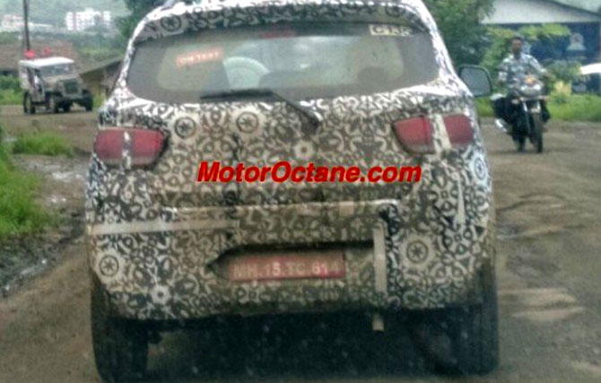 Mahindra's small SUV likely to be called XUV100