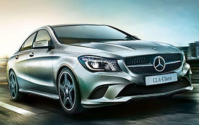 Mercedes-Benz rolls out India-made CLA sedan