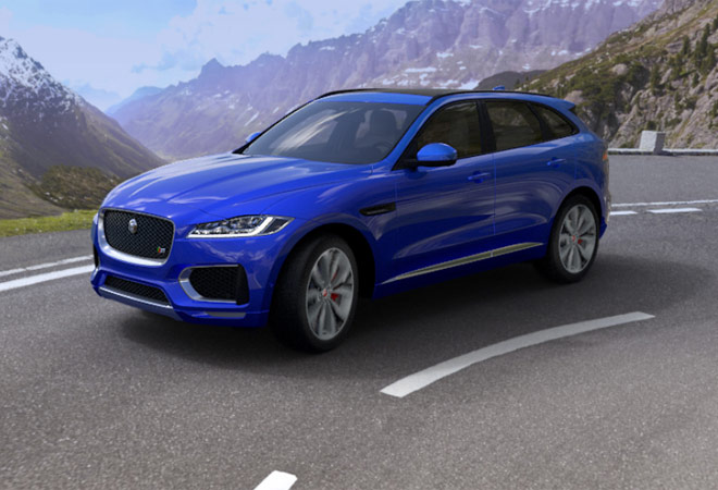 Tata JLR enters SUV market with F-Pace model