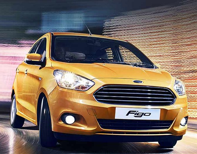 Ford launches all-new Figo, price starts at Rs 4.29 lakh