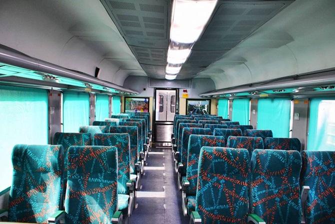 gatiman express india s fastest train hits the track rediff com
