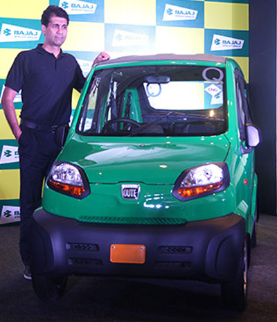 Future tense for Bajaj Auto's Qute