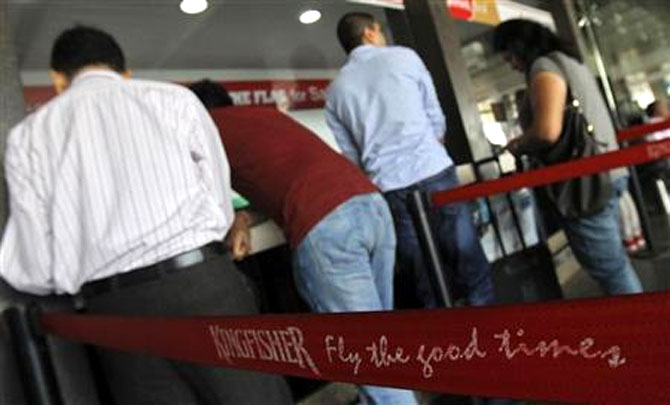 Banks to auction Kingfisher, 'Fly the Good Times' trademarks