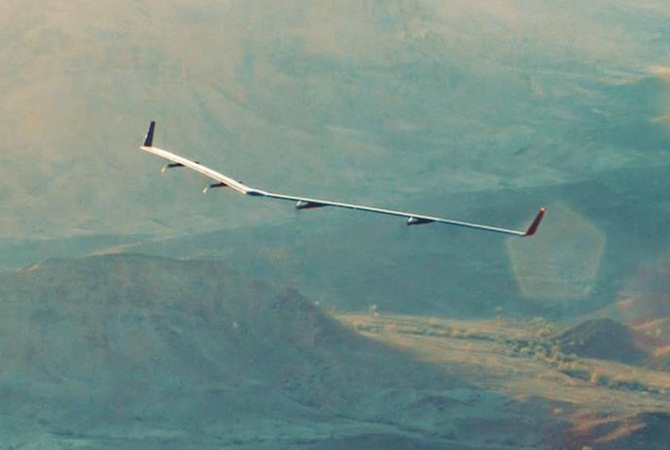 Check out Facebook's cheap 'Internet' delivery drone!