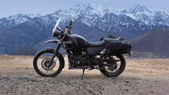 Enfield taps techies for Himalayan journey