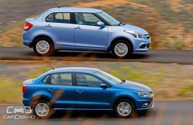 Volkswagen Ameo Vs Maruti Swift Dzire Which Should You Buy