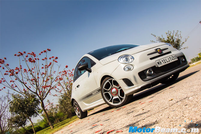 Check out the amazing Rs 36-lakh Fiat Abarth 595 - Rediff com Business