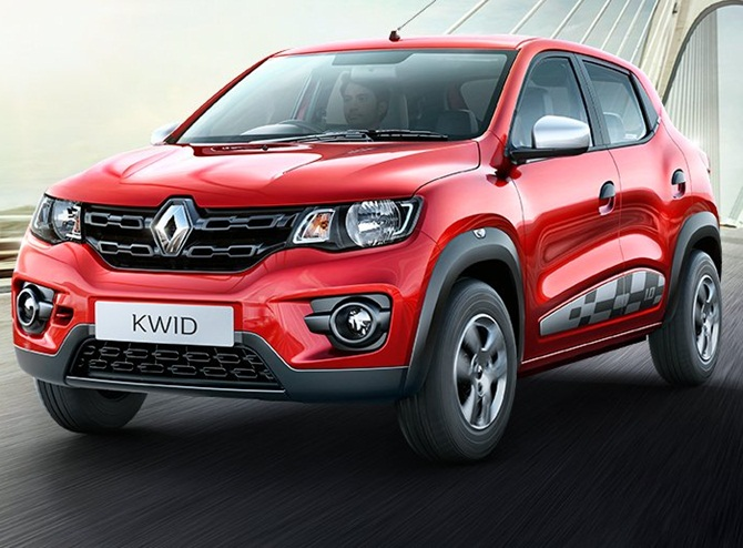 Renault launches new Kwid priced up to Rs 3.95 lakh