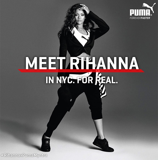 Rihanna for Myntra