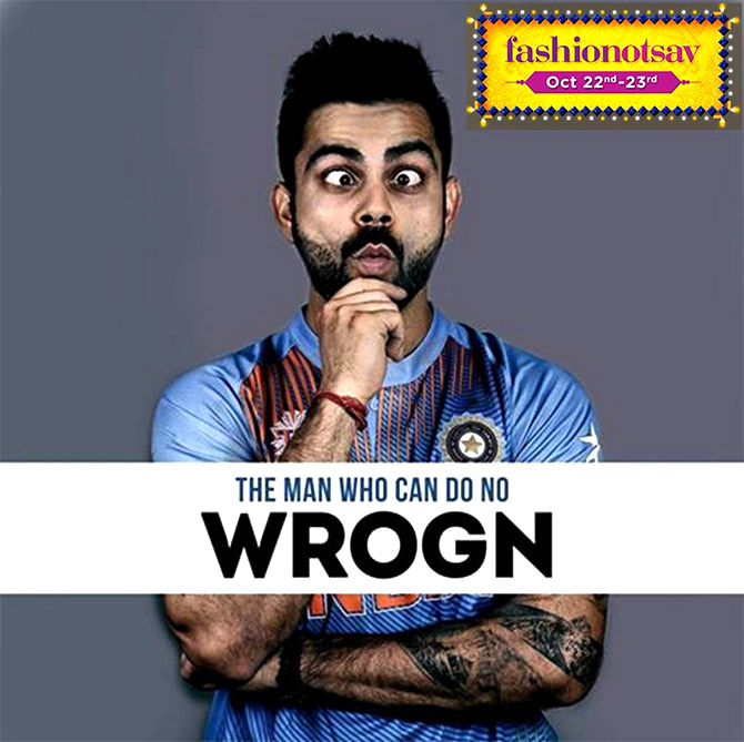 As does Virat Kohli