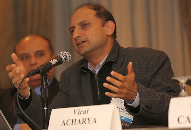 Dr Viral Acharya, the RBI's new deputy governor.