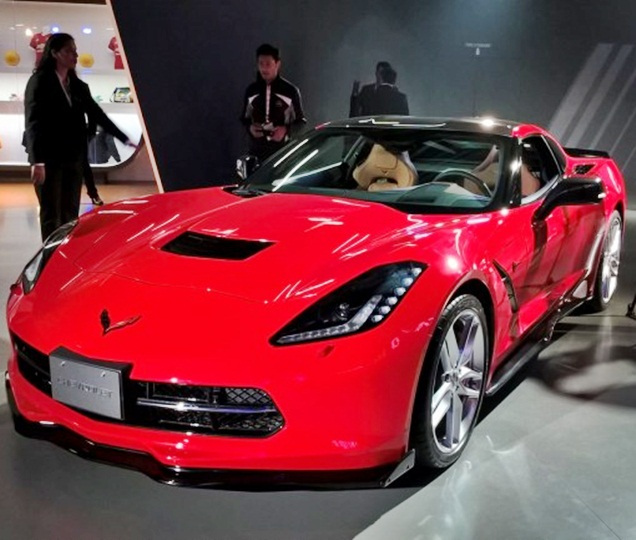 The stunning Chevrolet Corvette is here!