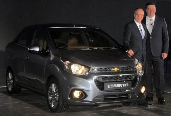 General Motors unveils Chevrolet Essentia