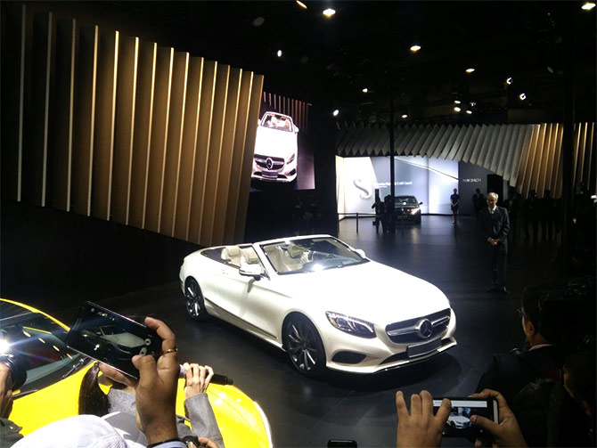 Stunning Mercedes GLC, S-Class Cabriolet in India!