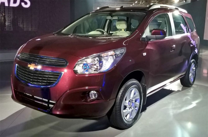 Chevrolet Spin to hit India roads in 2017