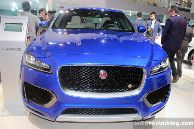 F-Pace: First ever crossover from Jaguar