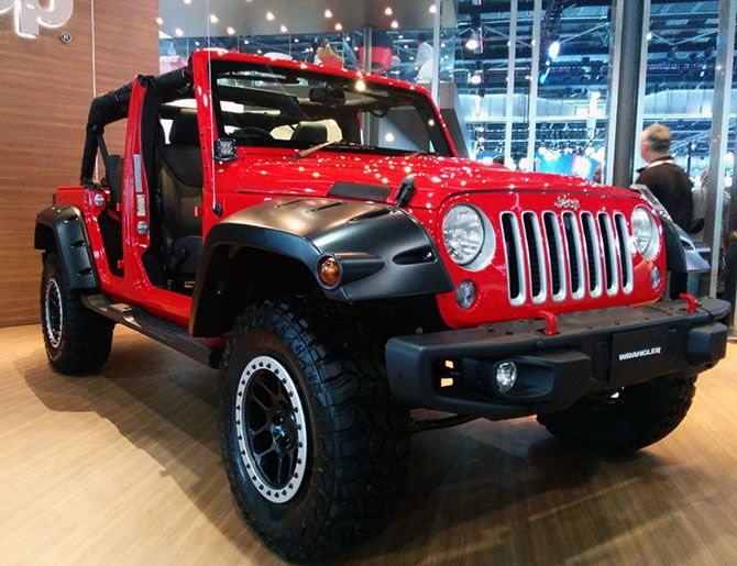The Long Awaited Chrysler Jeeps Arrive In India Rediff
