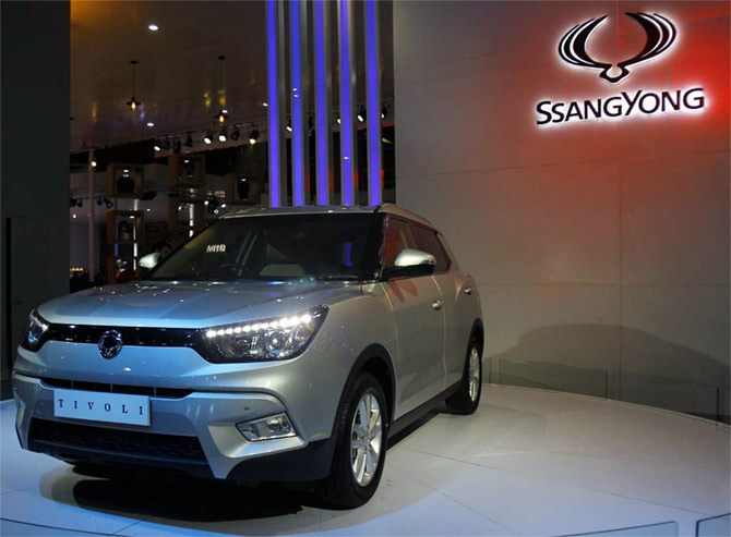 SsangYong's stylish SUV Tivoli comes to India