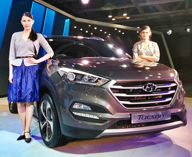 Once again, Hyundai Tucson steals the show