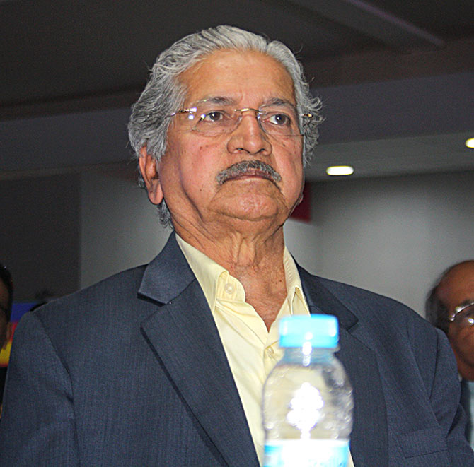 Maharashtra Industries Minister and senior Shiv Sena leader Subhash Desai