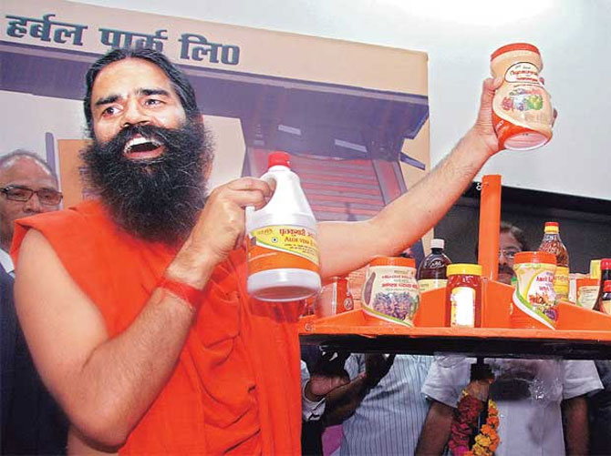 Baba Ramdev's products: Retail chains opt for loyalty points