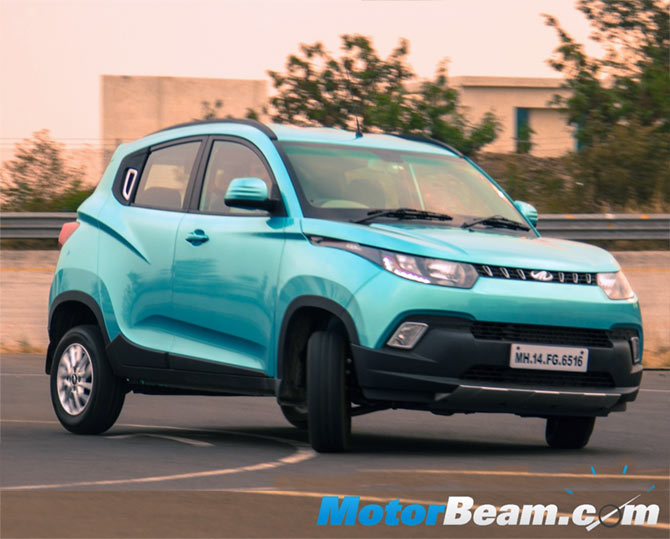 Mahindra KUV100 is an attractive compact SUV