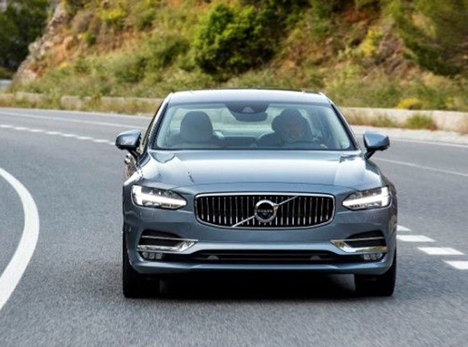 In one word, Volvo S90 is brilliant!