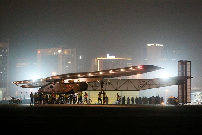 Solar-powered plane's remarkable flight around the world