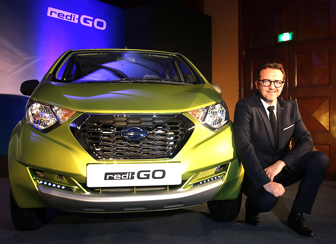 Datsun redi-GO launched, price starts at Rs 2.38 lakh
