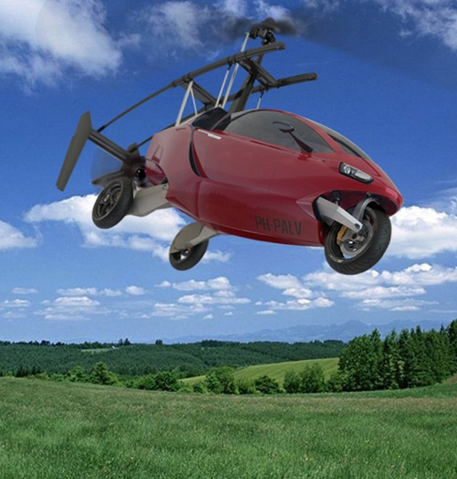 PAL-V: You can fly or drive this amazing car!