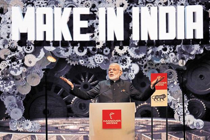 Modi promotes Make In India