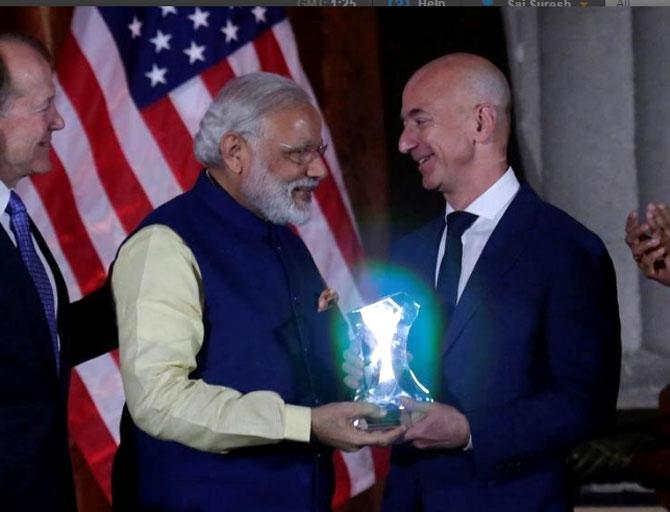 Bezos says Amazon to invest additional $3 billion in India