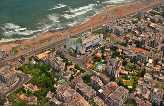 Visakhapatnam dreams to become India's San Francisco