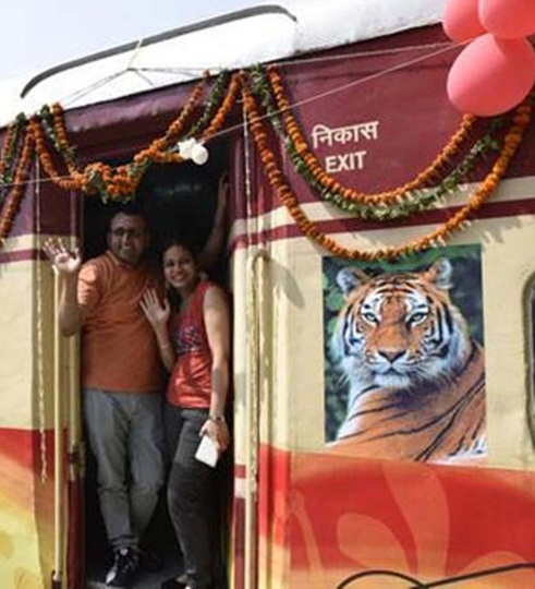 Onboard the amazing Tiger Express