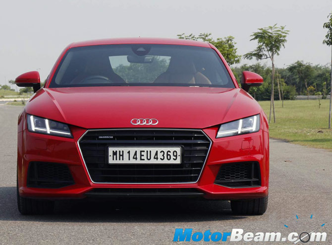 Audi TT: A Stunning Sports Car For The Indian Roads   Rediff.com Business