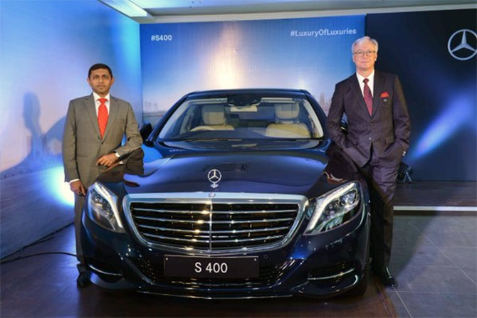 Mercedes Launches S 400 Sedan At Rs 1 31 Crore Rediff Com Business