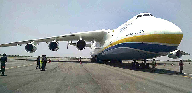 World's largest cargo aircraft lands in Hyderabad