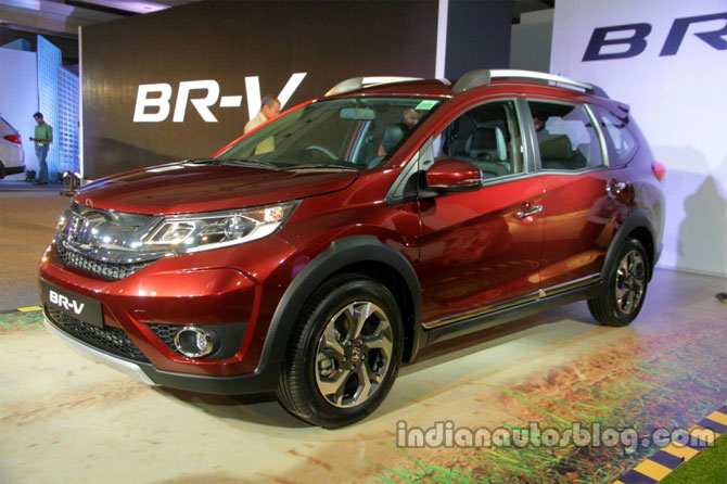 The new Honda BR-V is subtly macho