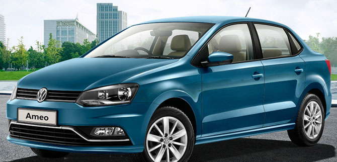 Volkswagen rolls out first Ameo from Pune plant