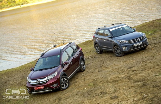 Honda BR-V vs Hyundai Creta: How the two stack up?