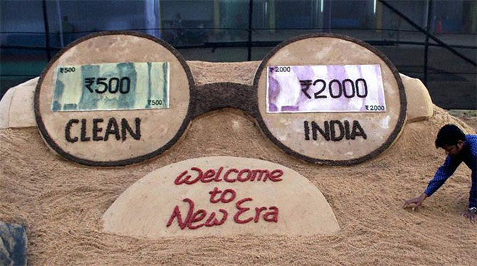 Demonetisation: Why Rs 4,500,000,000,000 may vanish from the system