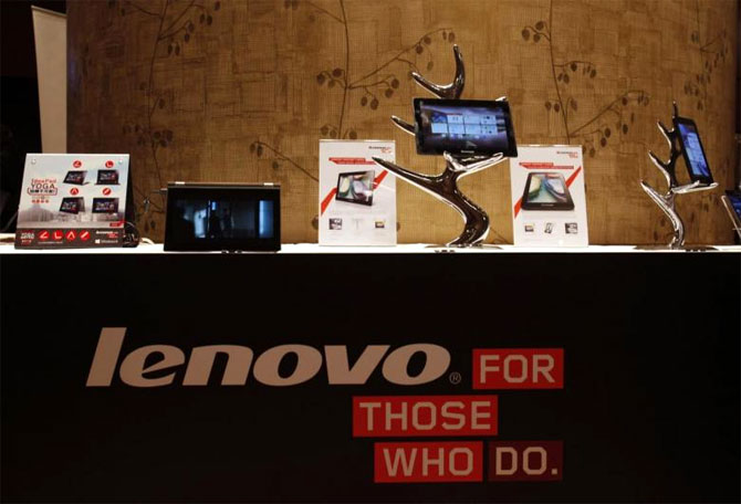 Lenovo bets on new products