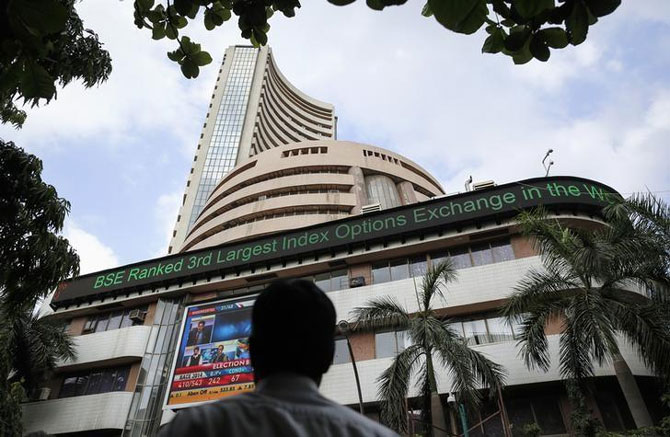 Sensex gets a lift from earnings uptick, paces up 145 points