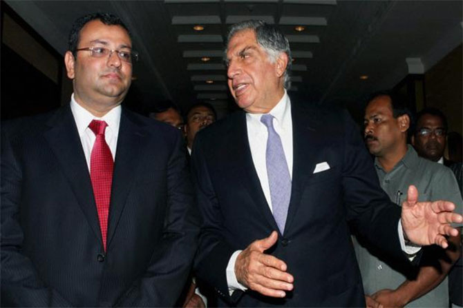 Why was Cyrus Mistry shown the door?