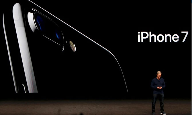 Apple iPhone 7 iPhone 7 boasts of a better camera, repels water and dust