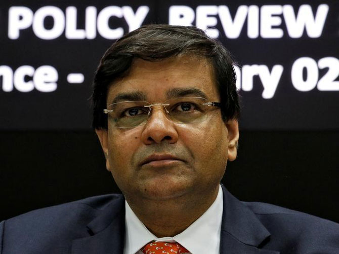 Reserve  Bank of India Governor Dr Urjit Patel